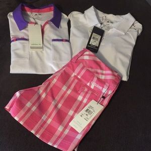 Adidas Girls Golf Attire